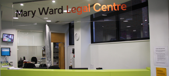 Specialist legal advice services in debt, employment, housing and welfare benefits